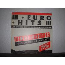 Eurohits - Vinilo Bolichero Año 1986