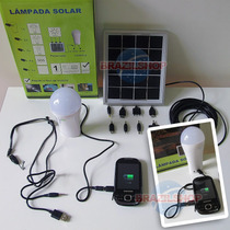 Lanterna 3 Watts Led Smd C/ Carregador Solar P/ Iphone E S4