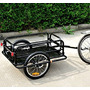 Aosom Nómada Para Bicicleta De Carga / Equipaje Trailer -