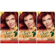 Soft Color Wella Kit 5554 Cobrizo Intenso X 3 Consulte Stock