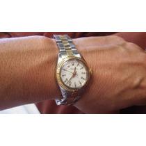Rolex Dama 6500 Oro 18k Combinado Año 69