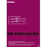 Manual Do Teclado Psr S 900 710 910 Em Português Impress