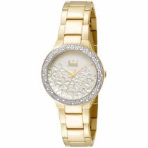 Relógio Dumont Feminino Du2039ltu/4b Dourado Lançamento