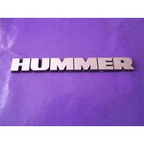 Emblema Hummer Camioneta