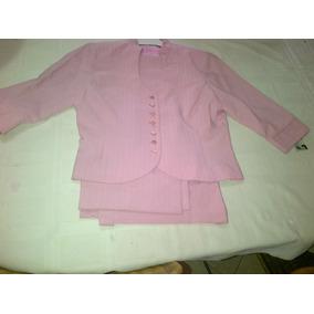 Conjunto De Chaqueta Y Pantalon Marca Teijido Talla 14