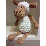 Oveja Muñeco Amigurumi 33 Cm Crochet Amigurumis