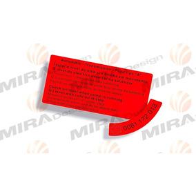 Kit C/2 Adesivos Reservatório Direção Hidráulica Zf Gm Opala