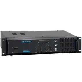 Amplificador Oneal Op1600 Potencia 110w Rms 4 Ohms Bivolt
