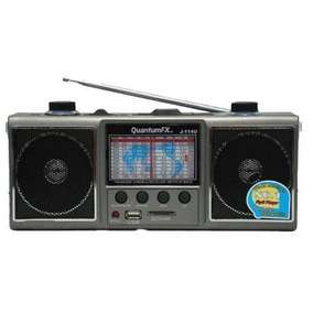 Radio Onda Corta Usb Sd Mp3 Escucha Estaciones De Mundo Y Tv