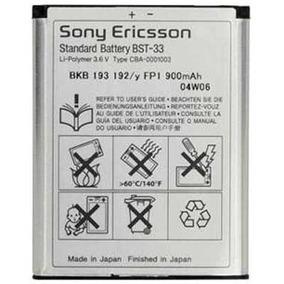 Pila Bateria Sony Ericsson Bst-33 Z610 Z750 K790 G700 W300