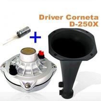 Driver Profissional Selenium D250x Grátis Corneta Capacitor
