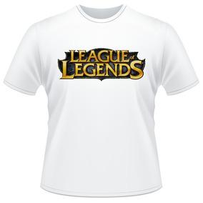 Camiseta League Of Legends Game Lol Camisa