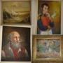 Cuadros Antiguedad Colecciòn, Simòn Bolivar Y Otros