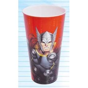 Copo De Plastico Thor Os Vingadores Marvel Avengers 540ml