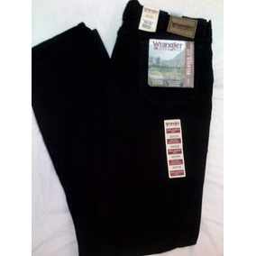 Jeans Wrangler Para Caballero Color Negro Talla 38x36