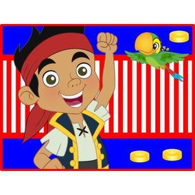 Kit Imprimible Jake Y Los Piratas Del País De Nunca Jamás