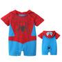 Macacão Fantasia Spiderman - Homem Aranha Bebê