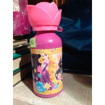 Botella De Agua Rapunzel Tangled Enredados Disney Store
