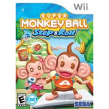 Super Monkey Ball Step Y Roll Nuevo Wii