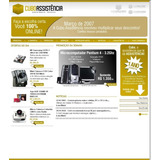 Site Assistência Técnica Celular Loja Informatica Script