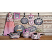 Oferta!! Set De Ollas Tramontina My Lovely Kitchen X 9 Pzas