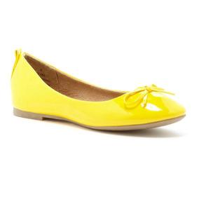 Flats If Carrini Amarillo 7.5 Y 8.5 Us