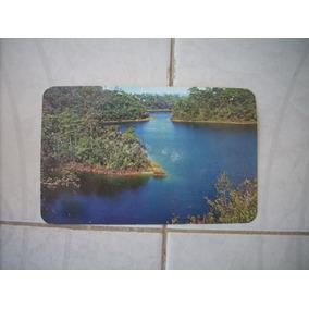 Antigua Postal Lagos De Montebello Chiapas Mexico Coleccion