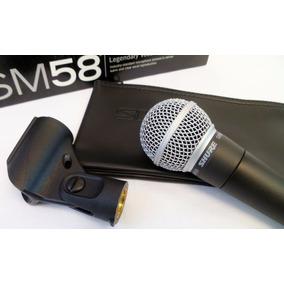 Microfone Profissional Shure Sm58 Cardióide Sm 58