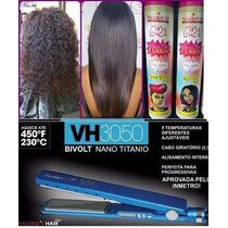 Chapinha Valeries Hair 3050 + Mina Louca Progressiva Nuance