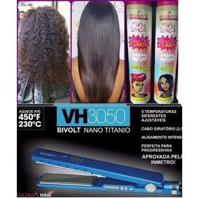 Chapinha Azul Valeries Hair + Mina Louca Progressiva Nuance
