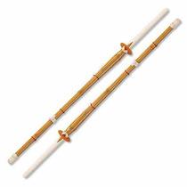 Conjunto De 2 47 \kendo Shinai Bambú Práctica De La Espada