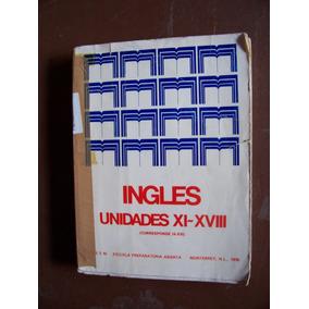 Inglés Unidades Xl-xvlll-preparatoria Abierta-ilust-1976-pm0