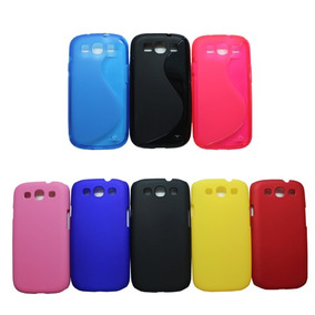 Funda + Mica Par Samsung Galaxy S3 Siii I9300 Plastico O Tpu