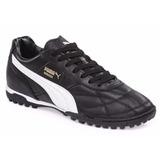 Botines Puma Borussia Classic Tt Cuero Negro/blanco