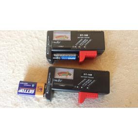 Testador De Pilhas E Baterias Testa Aa Aaa 9v Mod. Bt-168