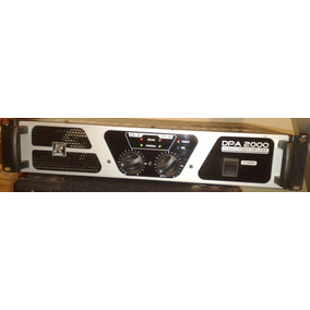 Potencia Staner Dpa-2000 Class D Amplifier Digi Power