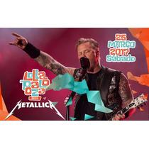 Metallica Dvd Ao Vivo São Paulo Lollapaloza 2017 + Cd Brinde