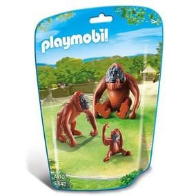 Familia De Orangutanes Playmobil 6648