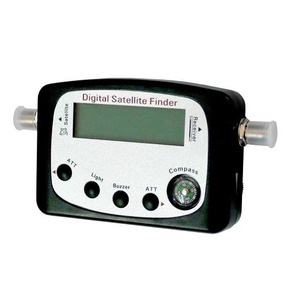 Localizador De Satelite Finder Digital P/ Antena Parabolica