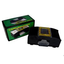 Embaralhador De Cartas Automático C/ 2 Decks De Baralho C104