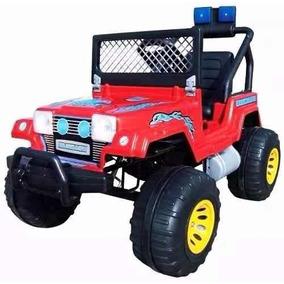 Jeep Wrangler Electrico 12v Luces 2 Motores + Carg + Bateria