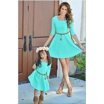 Vestidos Madre Y Hija-ropa Madre -vestidos De Nena-padre