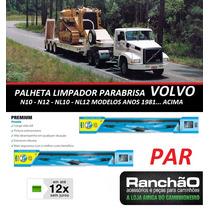 Palheta Limpador Parabrisa Caminhão Volvo N10 Nl12 1981...