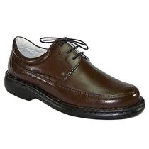 Sapato Antistress Pelica Marrom Ou Preto Mafisa Calçados