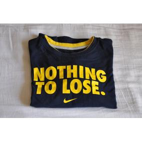 Camiseta Manga Longa Nike Para Menino - Seminova! Original