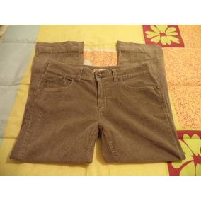 Pantalon Casual Kaki Faded Glory P/dama Talla 12-38 Nuevo