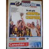 Revista Deportiva Manya Campeon 18 10 1999 Peñarol Campeon