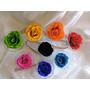Flores Eternas (preservadas) De Varios Colores