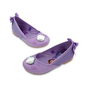 Espectaculares Zapatos Princesa Sofía Originales De Disney