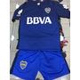 2017 Nuevo Conjunto Camiseta Short Boca Juniors Niño